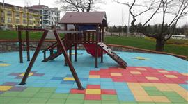 Kauçuk Karo Uygulamaları çocuk parkı