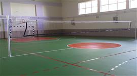 Akrilik Zemin Uygulamaları spor salonu