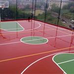 Poliüretan Zemin Uygulamaları Basketbol sahası