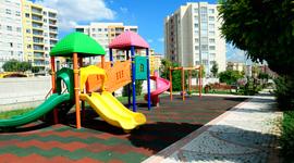kauçuk karo uygulama çocuk parkı